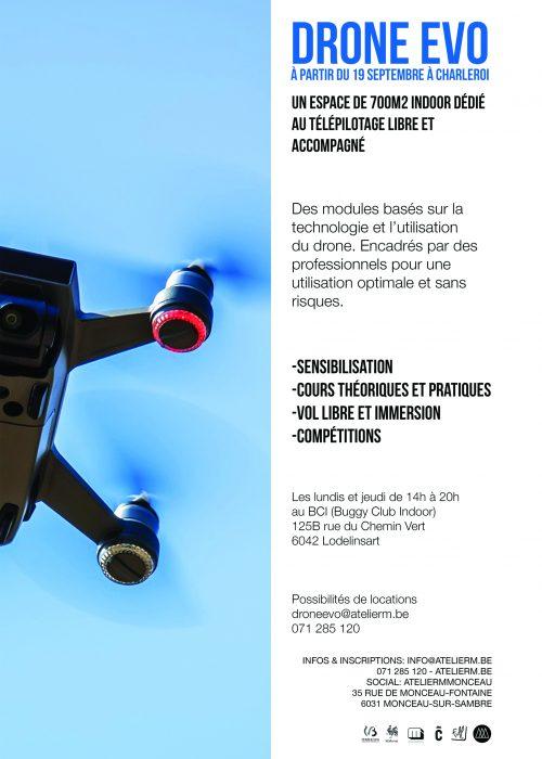 Drone evo flyers