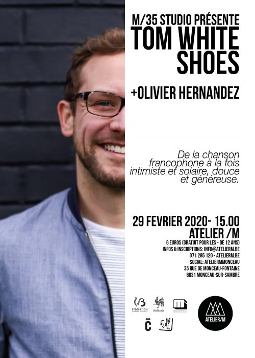 tom white shoes affiche A4